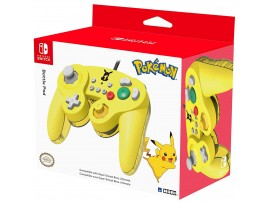NINTENDO SWITCH HORI PIKACHU BATTLE USB PAD CONTROLLER