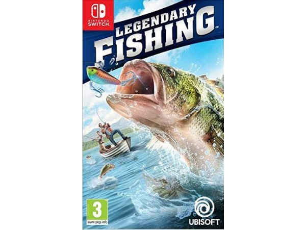 NINTENDO SWITCH LEGENDARY FISHING