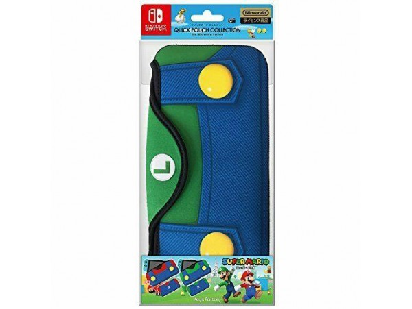 NINTENDO SWITCH LUIGI QUICK POUCH CASE