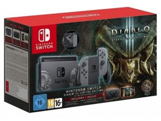 Nintendo Switch Diablo 3 Limited Edition Konsol + Oyun + Kılıf