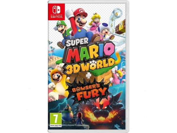 Nintendo Switch Super Mario 3d Worlds + Bowsers Fury
