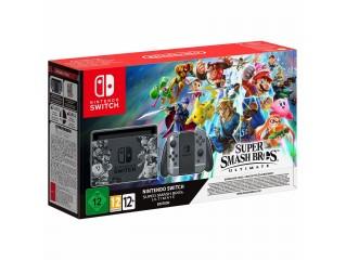 Nintendo Switch Super Smash Bros Ultimate Edition Konsol + Oyun Kodu