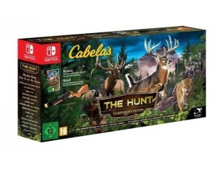 NINTENDO SWITCH THE HUNT CABELAS + TÜFEK APARATI