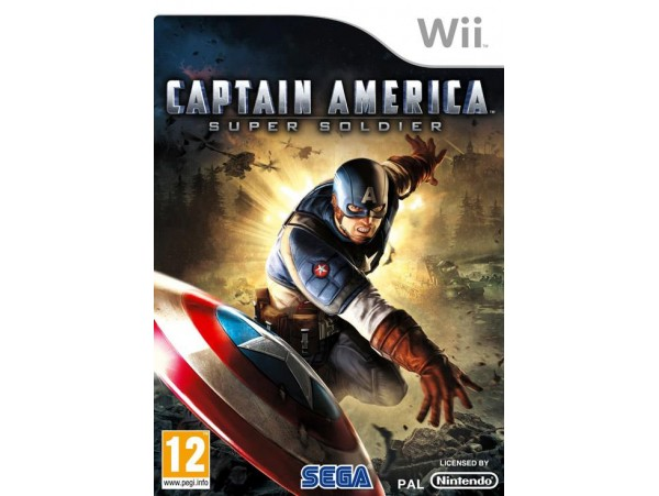 NINTENDO WII CAPTAIN AMERICA SUPER SOLDIER