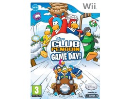 NINTENDO WII DISNEY CLUB PENGUIN GAME DAY