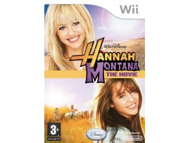 NINTENDO WII DISNEY HANNAH MONTANA THE MOVIE