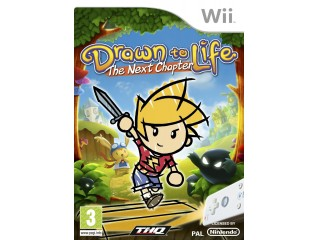 NINTENDO WII DRAWN TO LIFE THE NEXT CHAPTER