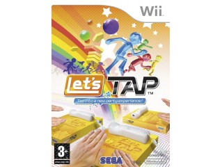 NINTENDO WII LETS TAP