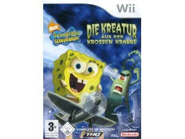 NINTENDO WII SPONGEBOB CREATURE FROM THE KRUSTY KRAB