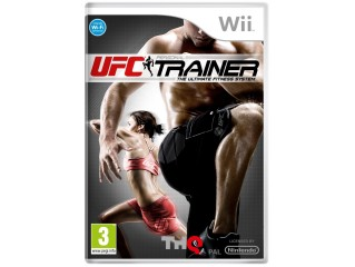 NINTENDO WII UFC PERSONEL TRAINER THE ULTIMATE FITNESS SYS