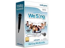 NINTENDO WII WE SING OYUN + TEK MIKROFON
