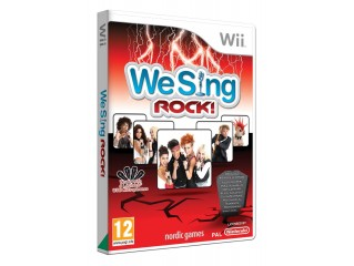 NINTENDO WII WE SING ROCK - TEK OYUN MIKROFON YOKTUR!!!