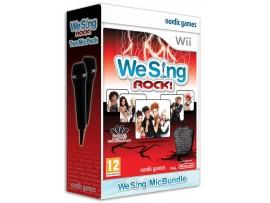 NINTENDO WII WE SING ROCK OYUN + 2 MIKROFON