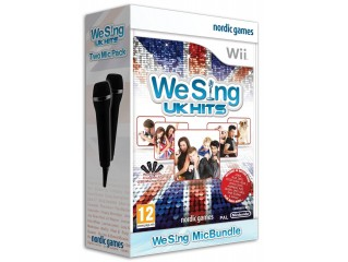 NINTENDO WII WE SING UK HITS OYUN + 2 MIKROFON