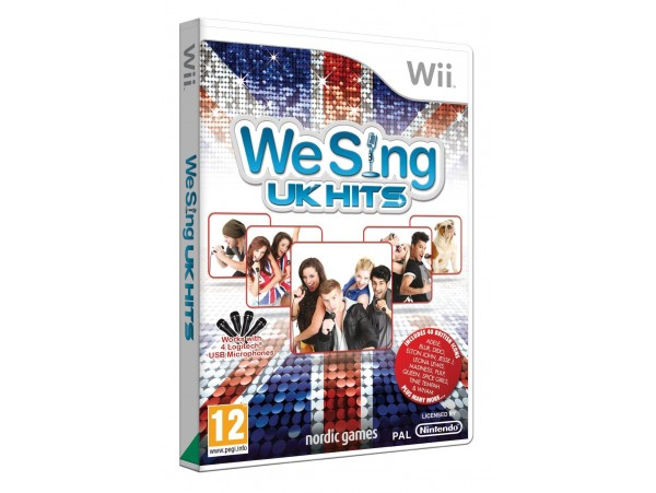 NINTENDO WII WE SING UK HITS - TEK OYUN MIKROFON YOKTUR!!!