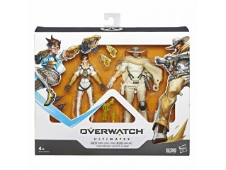 OVERWATCH ULTIMATES SERIES TRACER & McCREE 2 PACK HASBRO 6''