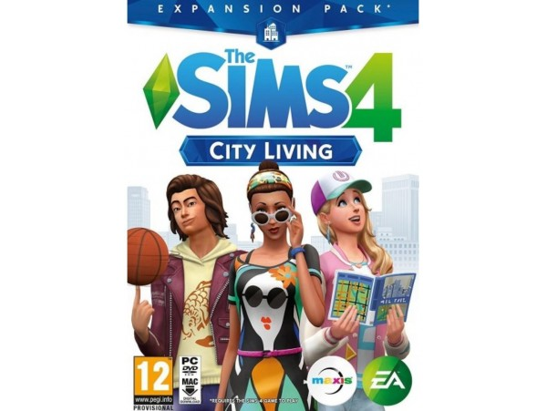 PC SIMS 4 CITY LIVING GENISLEME PAKETI