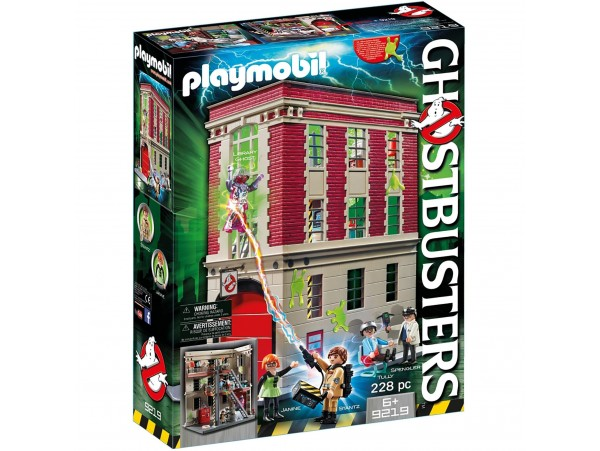 Playmobil Ghostbusters Firehouse (9219) 228 Parca
