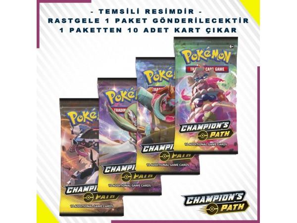 Pokemon Tcg: Champion's Path Booster Pack 10'lu (orjinal Ürün)