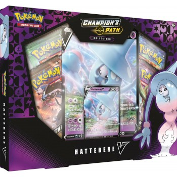 POKEMON TCG CHAMPION'S PATH COLLECTION HATTERENE V BOX