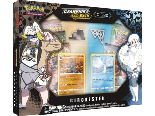 POKEMON TCG CHAMPION'S PATH SPECIAL PIN COLLECTION CIRCHESTER