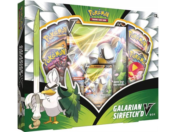 Pokemon Tcg Galarian Sirfetch'd V Box