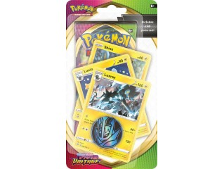 POKEMON TCG S&S VIVID VOLTAGE V1 PREMIUM CHECKLANE 3 ÖZEL KART + BOOSTER