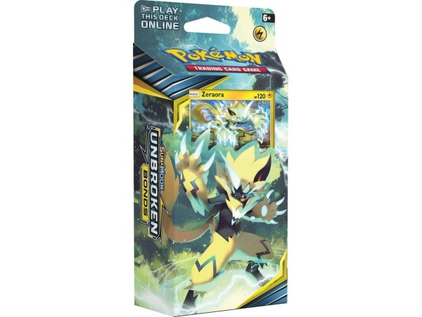 POKEMON TCG SUN AND MOON UNBROKEN BONDS LIGHTNING LOOP 60LI ORJINAL KARTLAR