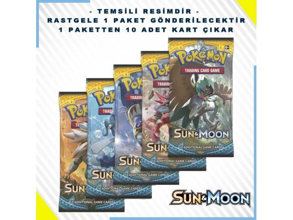 Pokemon Tcg: Sun & Moon Booster Pack 10'lu (orjinal Ürün)