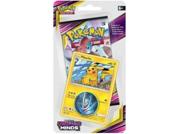 Pokemon Tcg: Sun & Moon Checklane Booster Pack Pikachu Kart Seti 10'lu (orjinal Ürün)