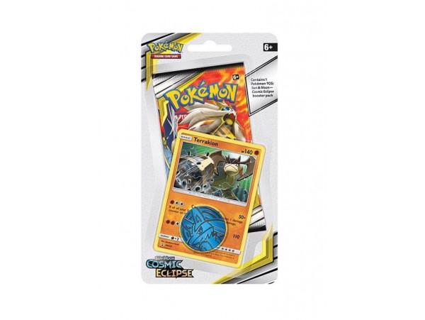 POKEMON TCG: SUN & MOON CHECKLANE BOOSTER PACK TERRAKION KART SETI 10'LU (ORJINAL URUN)