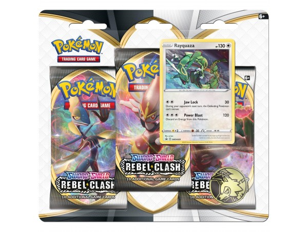 POKEMON TCG: SWORD & SHIELD REBEL CLASH RAYQUAZA KART SETI 30'LU (ORJINAL URUN)