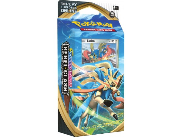 POKEMON TCG SWORD & SHIELD REBEL CLASH ZACIAN 60LI ORJINAL KARTLAR