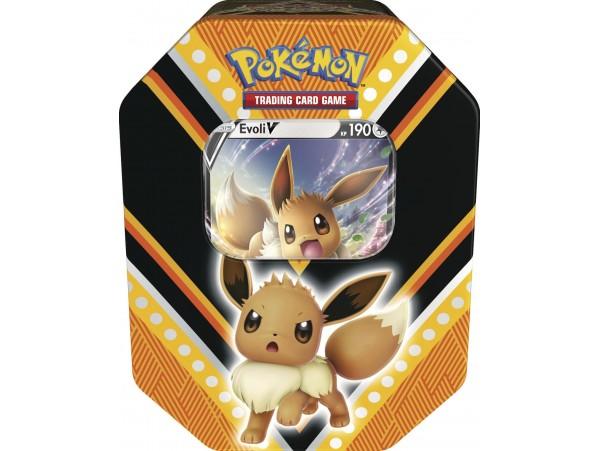 Pokemon Tcg V Powers Tin Eevee