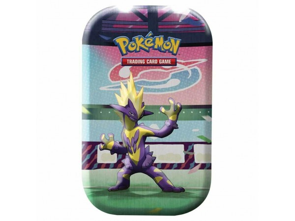 Pokemon Tgc Galar Power Mini Tin Toxtricity Temali