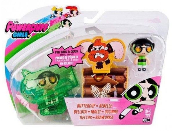 POWERPUFF GIRLS AURA ARAC SETI BUTTERCUP-REBELLE