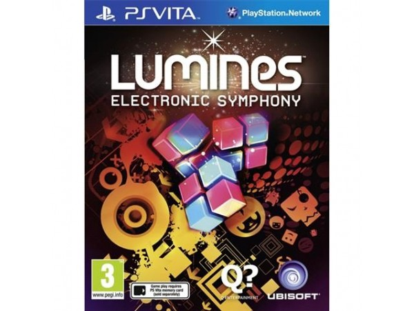 Ps Vita Lumines Electronic Symphony