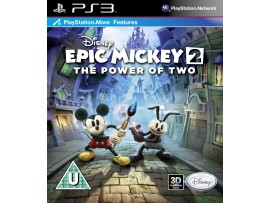 PS3 DISNEY EPIC MICKEY 2 CIFTE GUC TURKCE