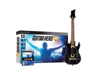 Ps3 Guitar Hero Live Guitar + Oyun ( Kutu Hasarlı )