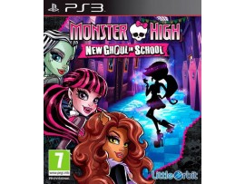PS3 MONSTER HIGH NEW GHOUL IN SCHOOL