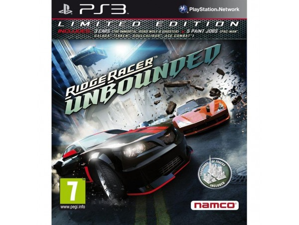 PS3 RIDGE RACER UNBOUNDED LIMITED EDITION