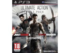 PS3 ULTIMATE ACTION TRIPLE PACK JUST CAUSE2 TOMB RAIDER SLEEPING DOGS