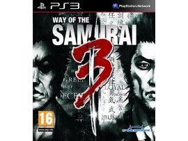 PS3 WAY OF THE SAMURAI 3