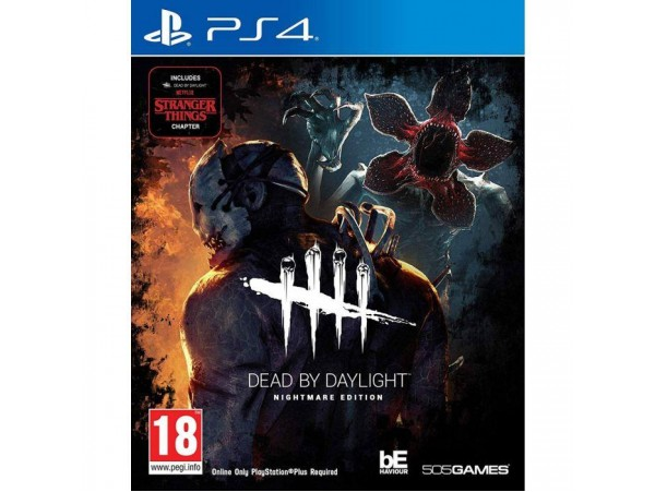 PS4 DEAD BEY DAYLIGHT NIGHTMARE EDITION - STRANGER THINGS CAPTER