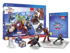 PS4 DISNEY INFINITY 2.0 MARVEL SUPER HEROES AVENGERS STARTER PACK