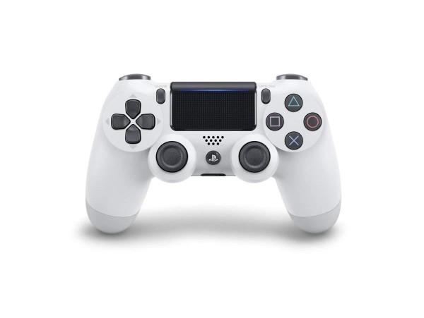 PS4 DUALSHOCK 4 GLACIER WHITE V2 WIRELESS CONTROLLER KOL
