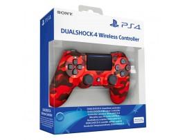 PS4 DUALSHOCK 4 V2 KIRMIZI KAMUFLAJ WIRELESS CONTROLLER KOL