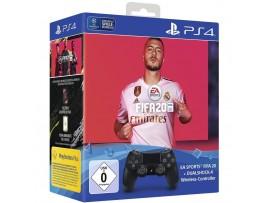 PS4 FIFA 2020 OYUN & PS4 DUALSHOCK KUMANDA SIYAH V2 (EURASIA GARANTILI)