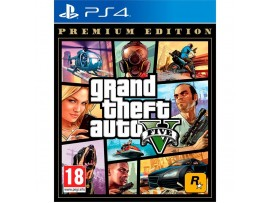 PS4 GRAND THEFT AUTO GTA 5 V PREMIUM EDITION