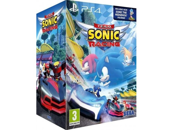 PS4 TEAM SONIC RACING SPECIAL EDITION FİGÜRLÜ